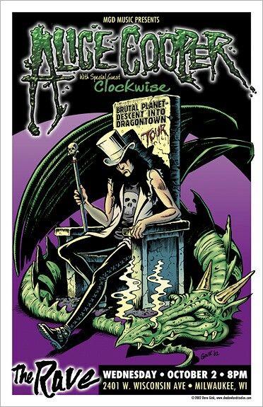 Alice Cooper - The Rave, Milwaukee