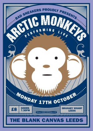 Arctic Monkeys, The - Blank Canvas, Leeds