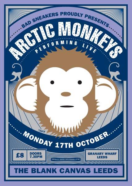 Arctic Monkeys, The - Blank Canvas, Leeds