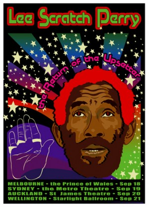 Lee Scratch Perry, Australia
