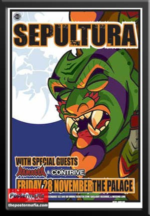 Sepultura, The Palace
