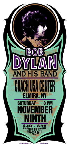 Bob Dylan Coach USA Center