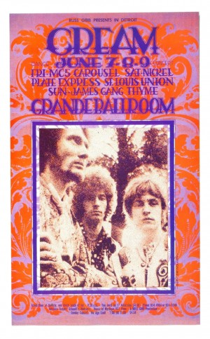 Cream, The Grande Ballroom