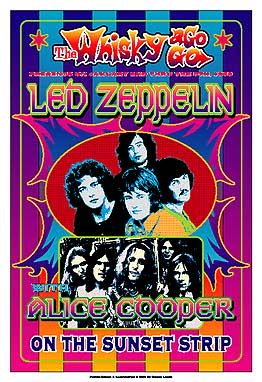Led Zeppelin Dennis Loren 1969