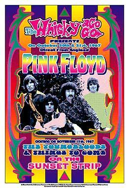 Pink Floyd Dennis Loren 1967