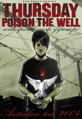 Thursday Poison The Well OZ