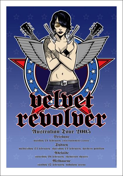 Velvet Revolver, Australia 2005