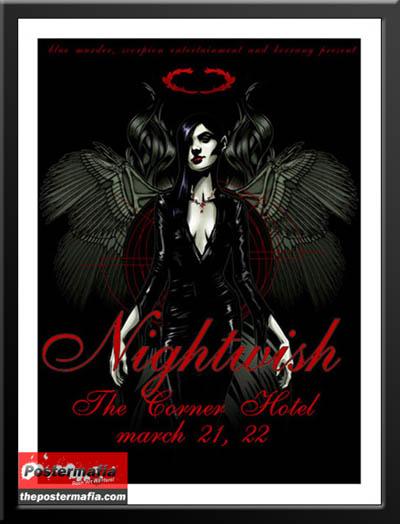 nightwishGigposters