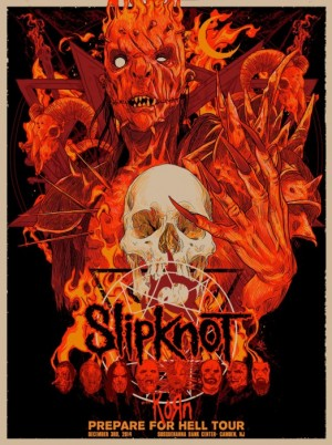 Slipknot Prepare For Hell Tour 2014 Red Edition